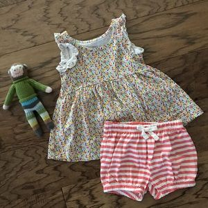 Sweet babyGap girl outfit